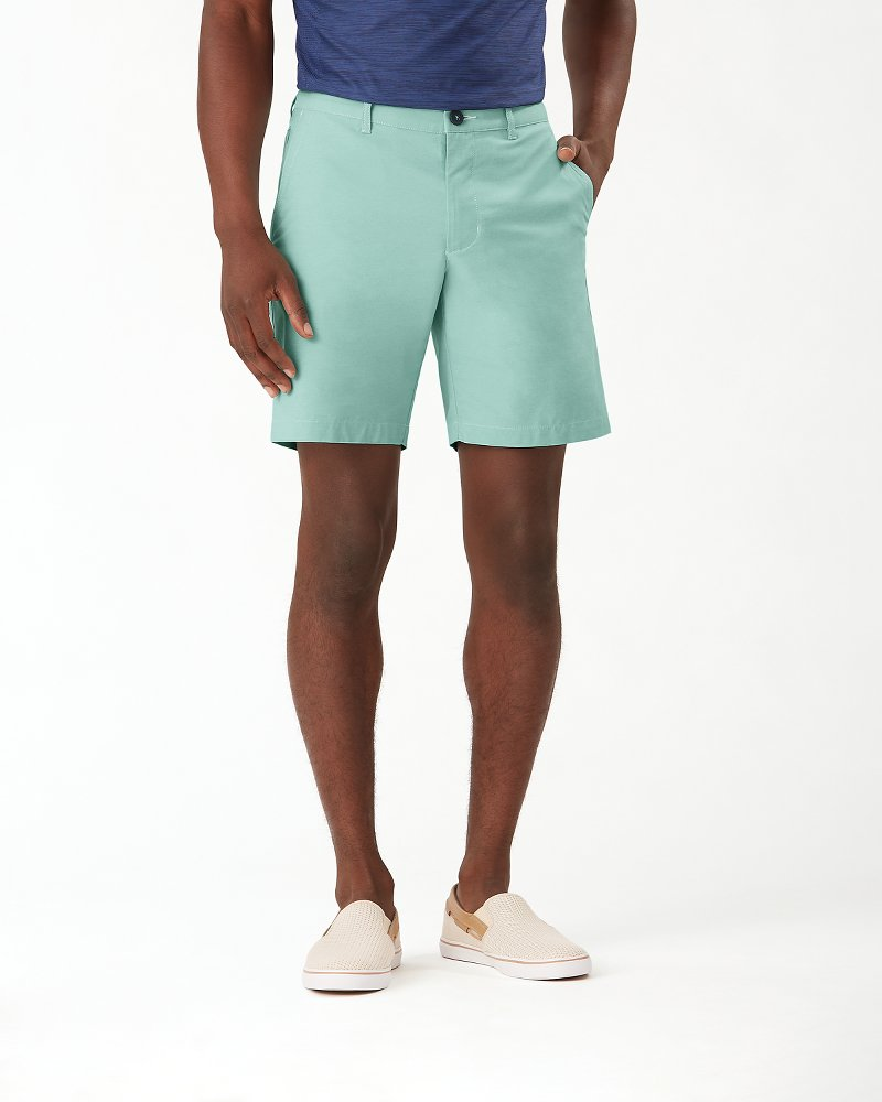 Chip Shot IslandZone® 8-Inch Oxford Shorts
