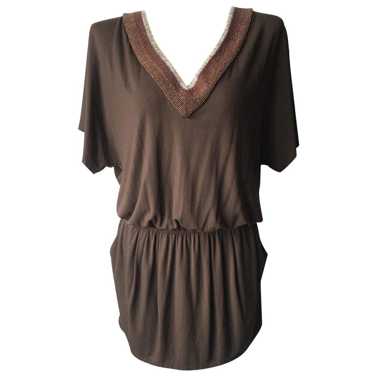 Faith Connexion - Robe   pour femme - marron