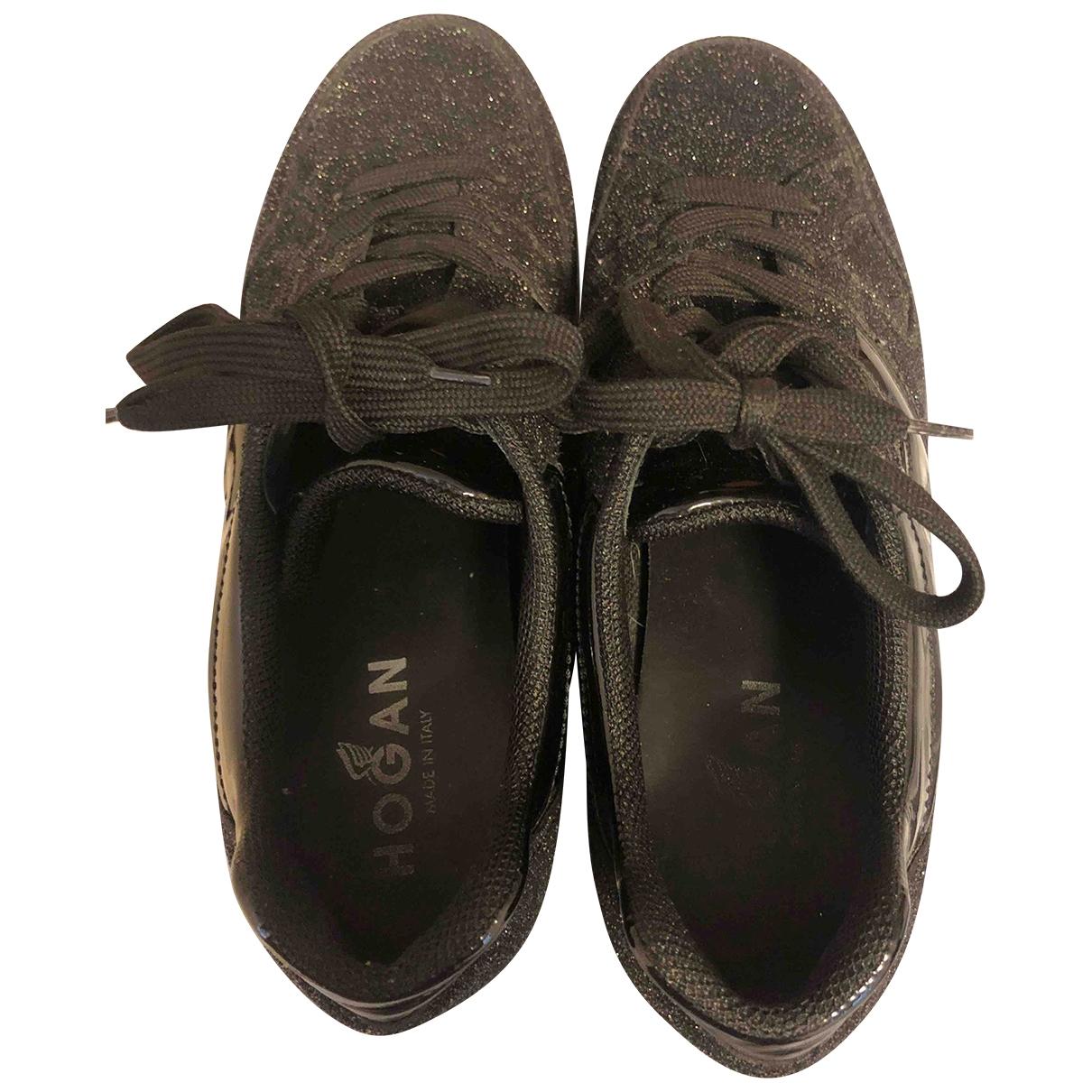 Hogan \N Sneakers in  Schwarz Mit Pailletten