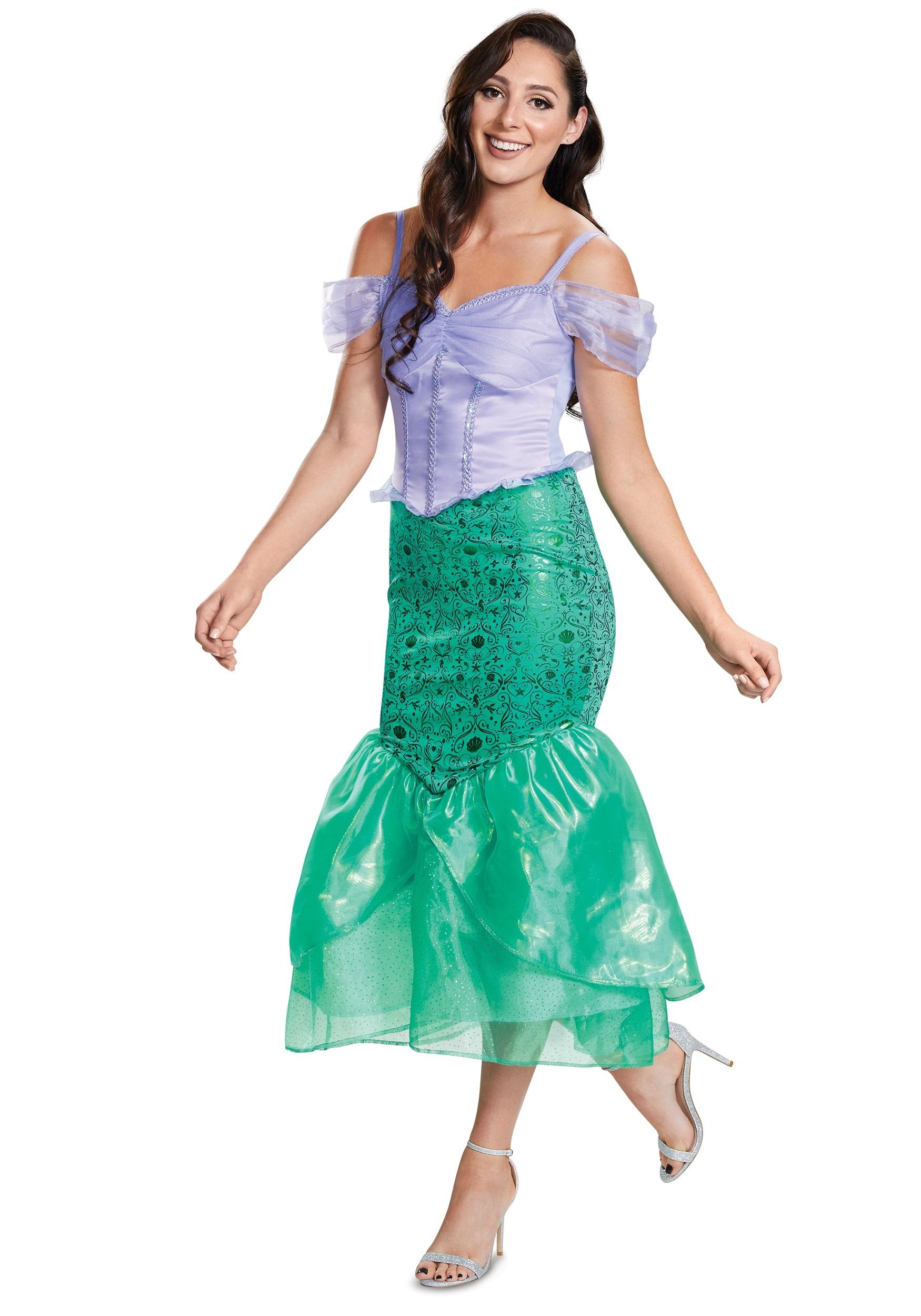 Deluxe Ariel Costume Adult The Little Mermaid