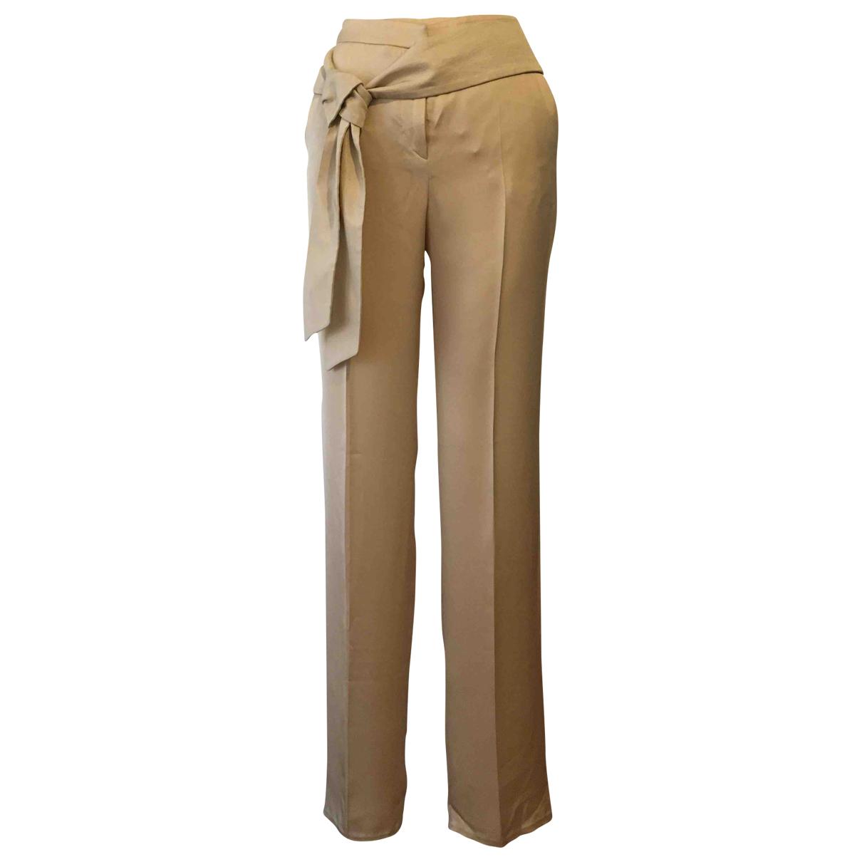 Pantalon de Seda Giorgio Armani