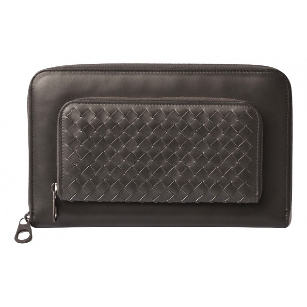Bottega Veneta N Grey Leather wallet for Women N