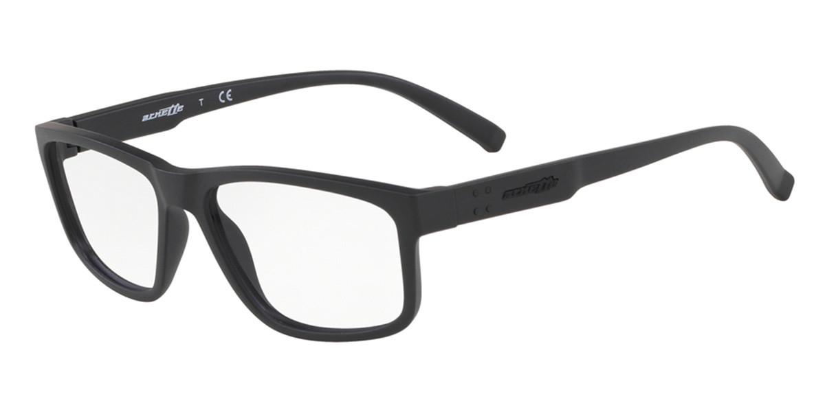 Arnette AN7163 La Condesa 01 Men's Glasses Black Size 55 - Free Lenses - HSA/FSA Insurance - Blue Light Block Available