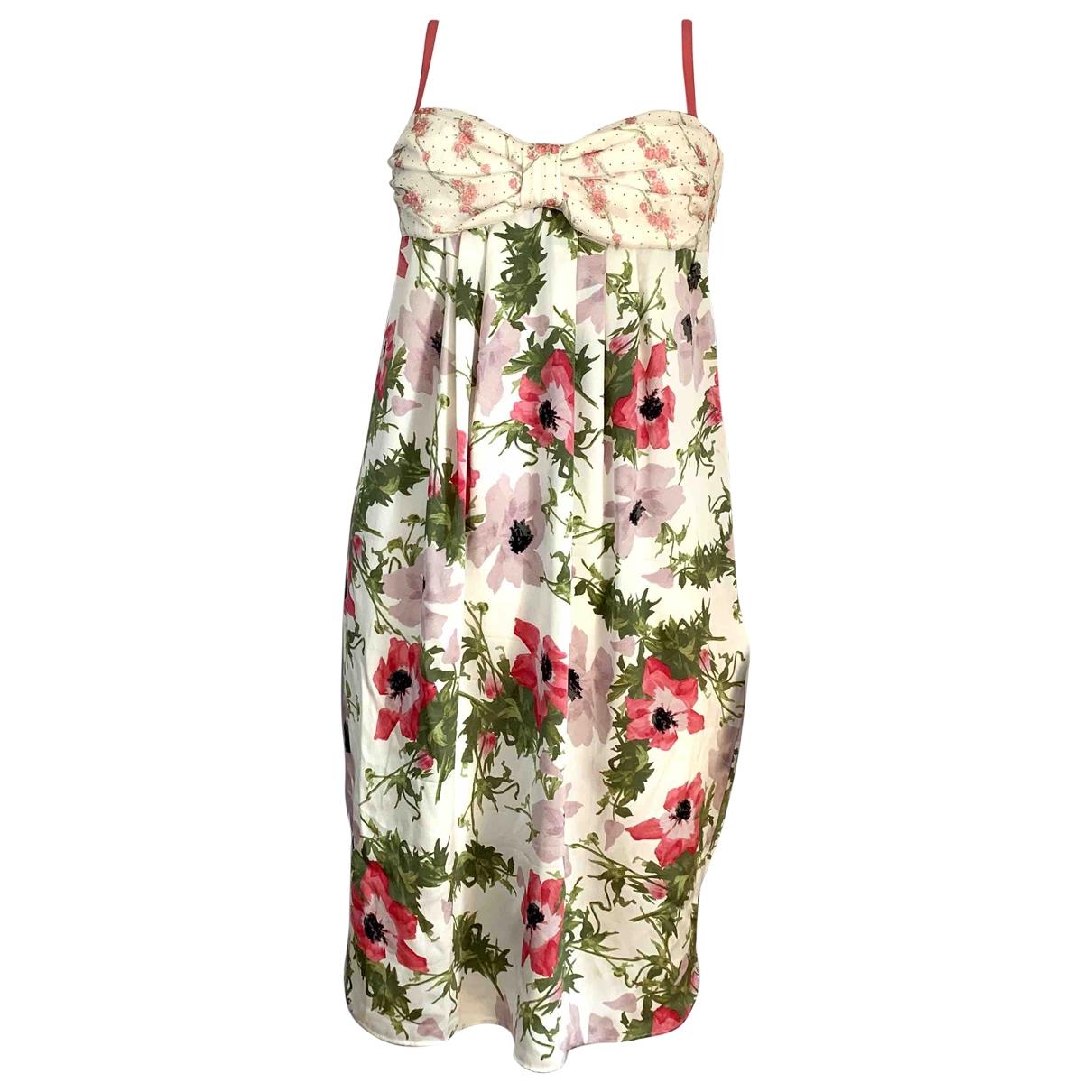 Vestido de Seda Galliano