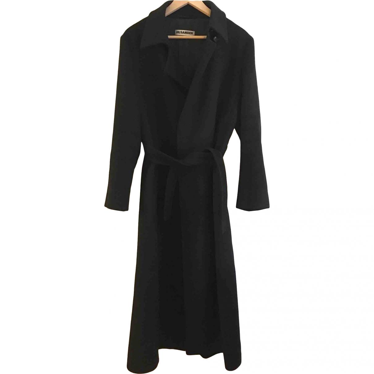 Jil Sander \N Black Cashmere coat for Women 42 FR