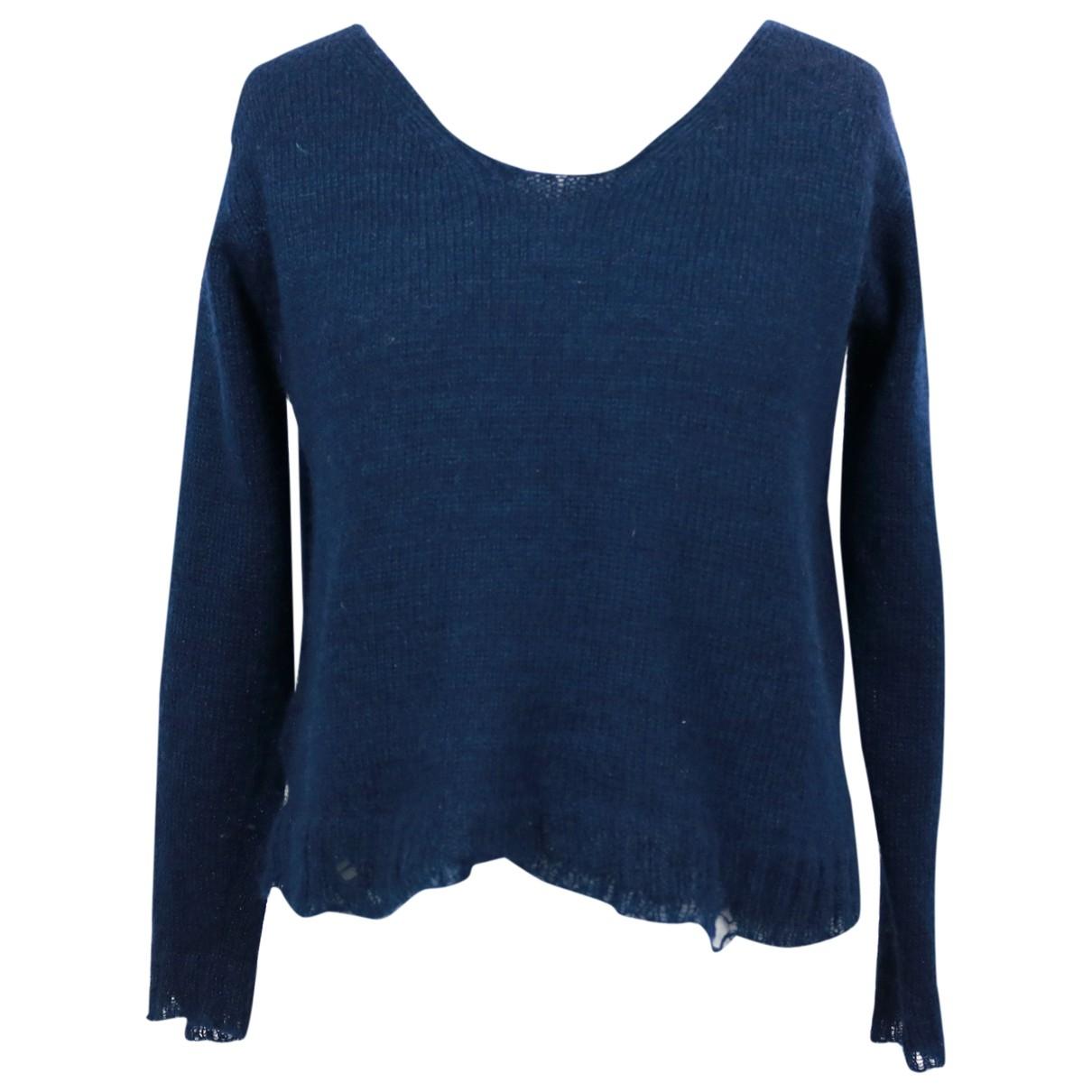 Prada \N Navy Wool Knitwear for Women 38 IT