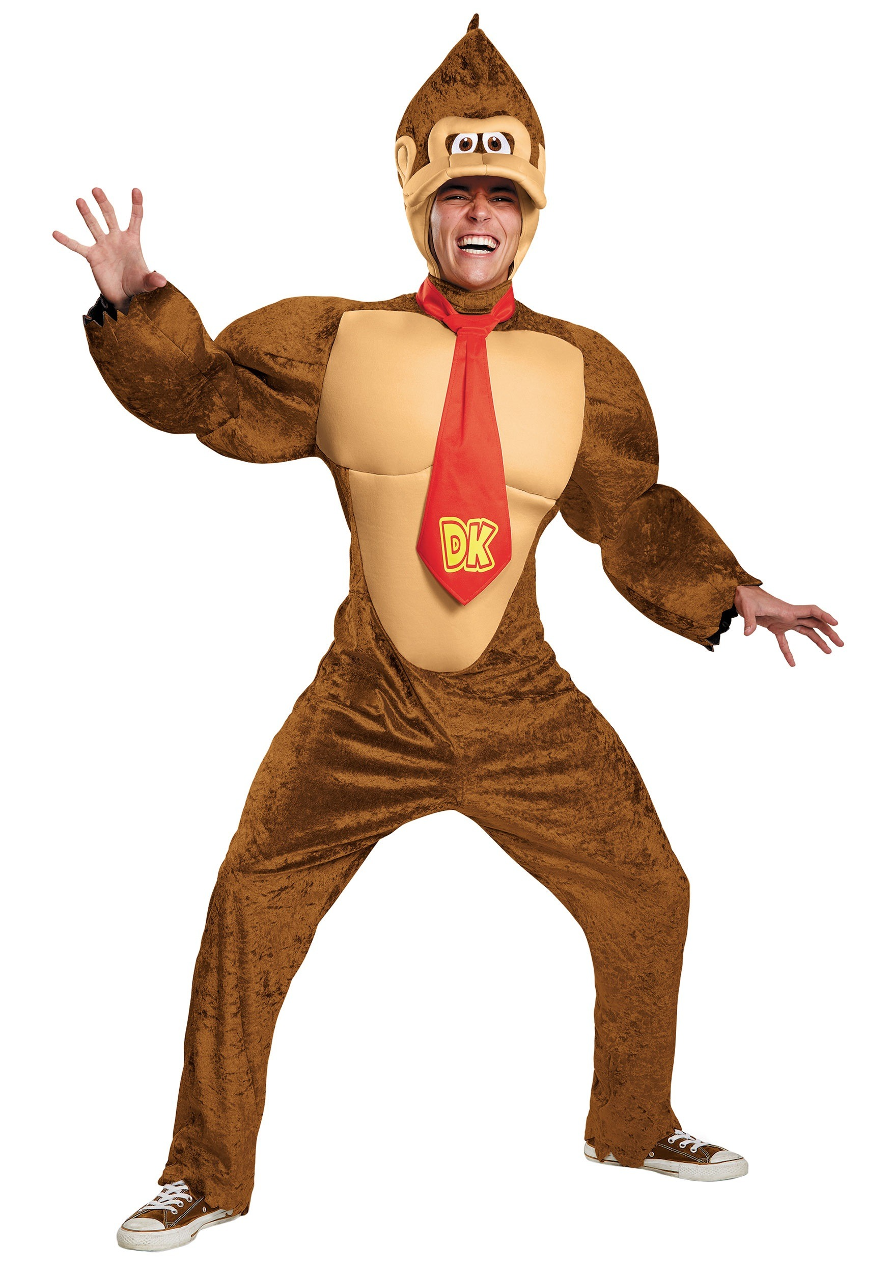 Plus Size Adult Deluxe Donkey Kong Costume 2X