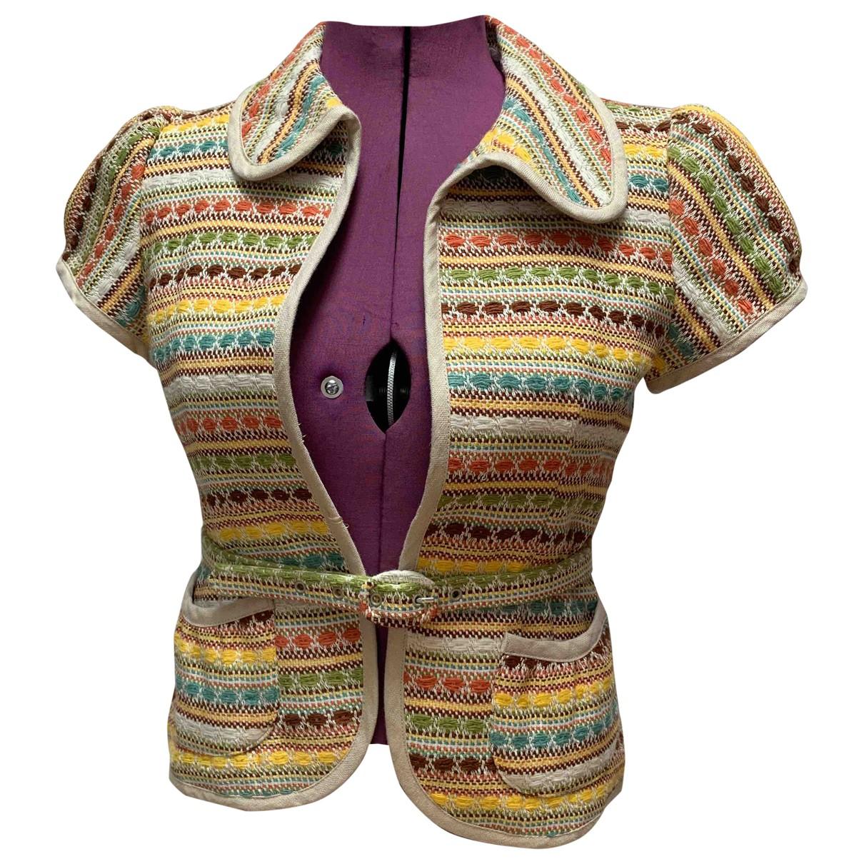Nanette Lepore - Veste   pour femme en coton - multicolore