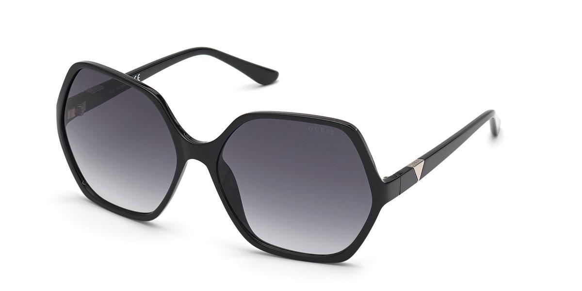 Guess GU 7747 01B Women's Sunglasses Black Size 62