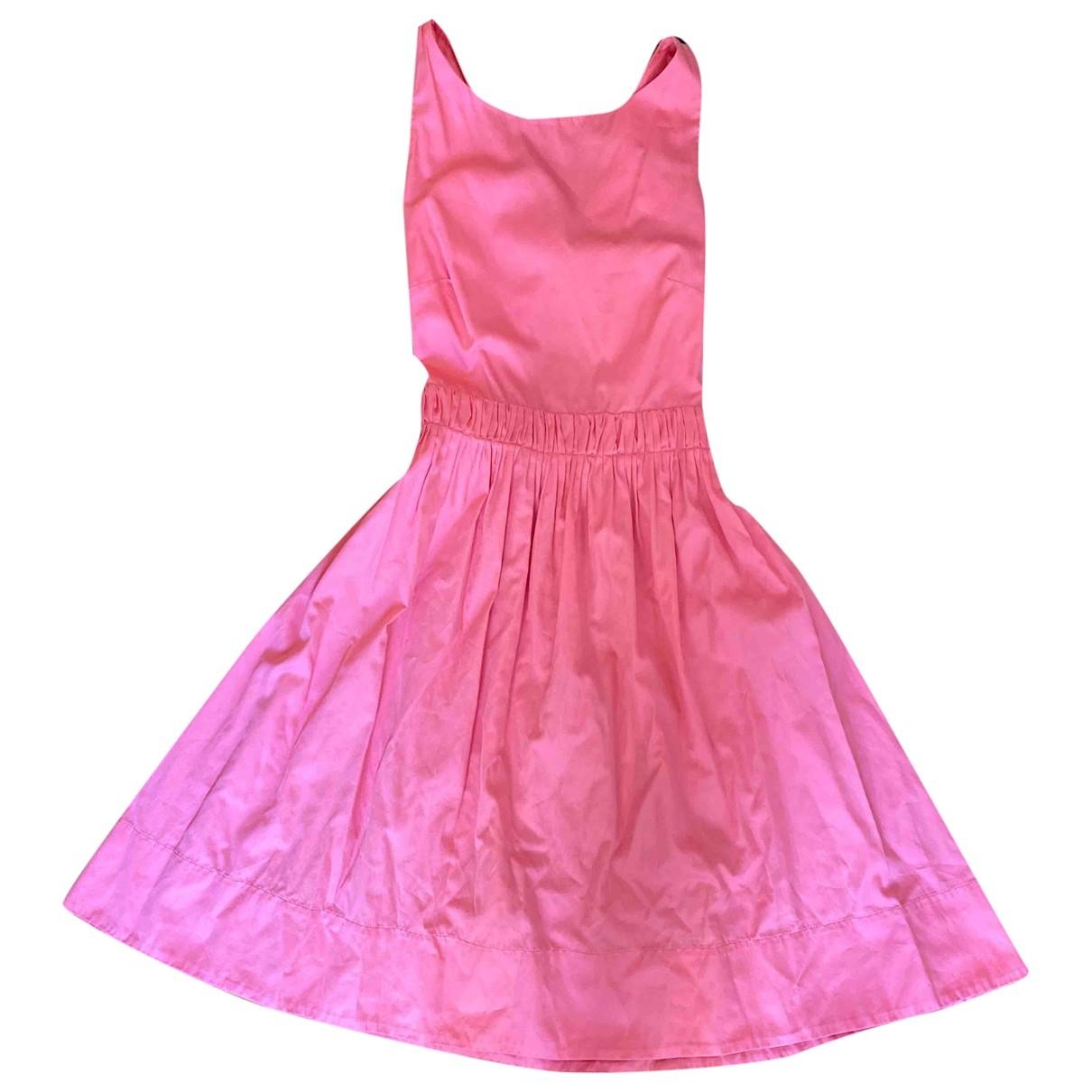 Tara Jarmon \N Kleid in  Rosa Baumwolle
