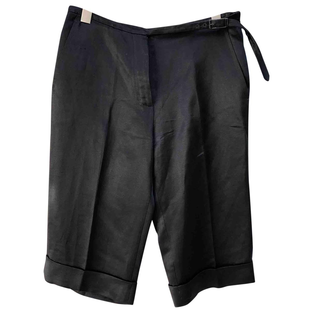 Hermes - Short   pour femme en soie - noir