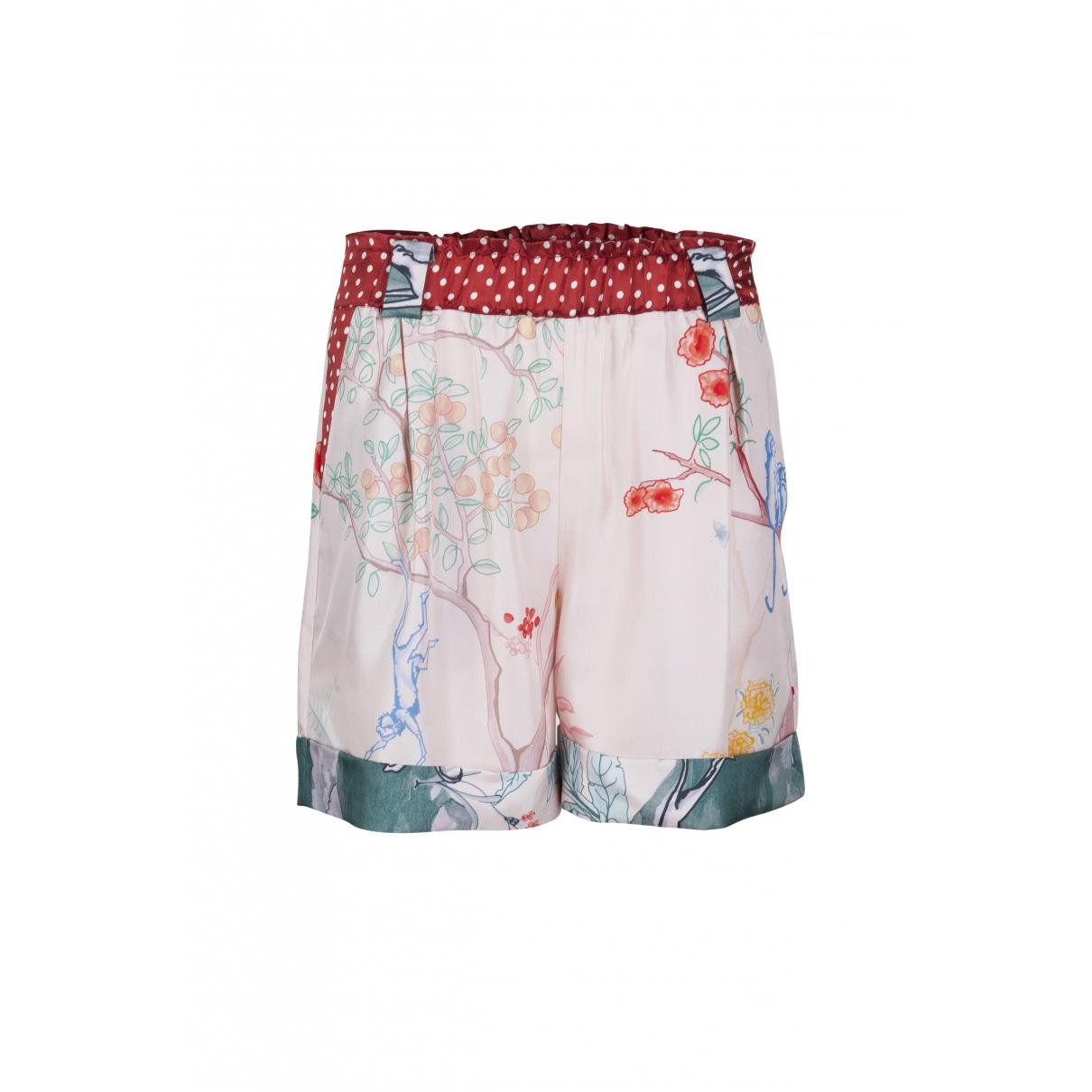 Stine Goya \N Shorts in  Bunt Seide