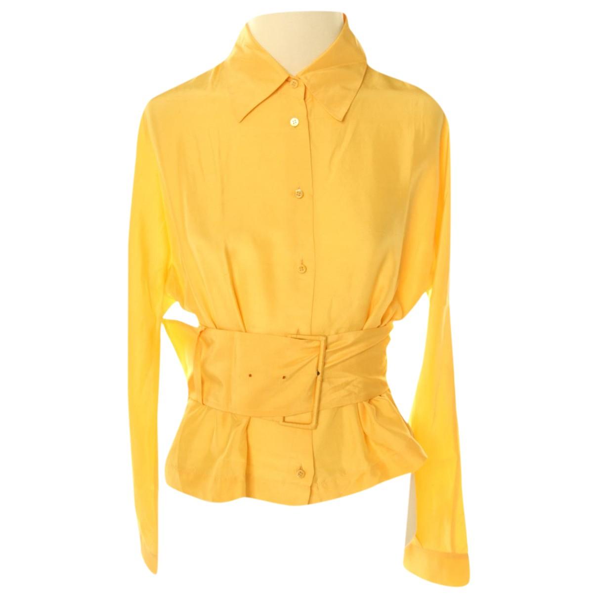 Camisa de Seda Prada