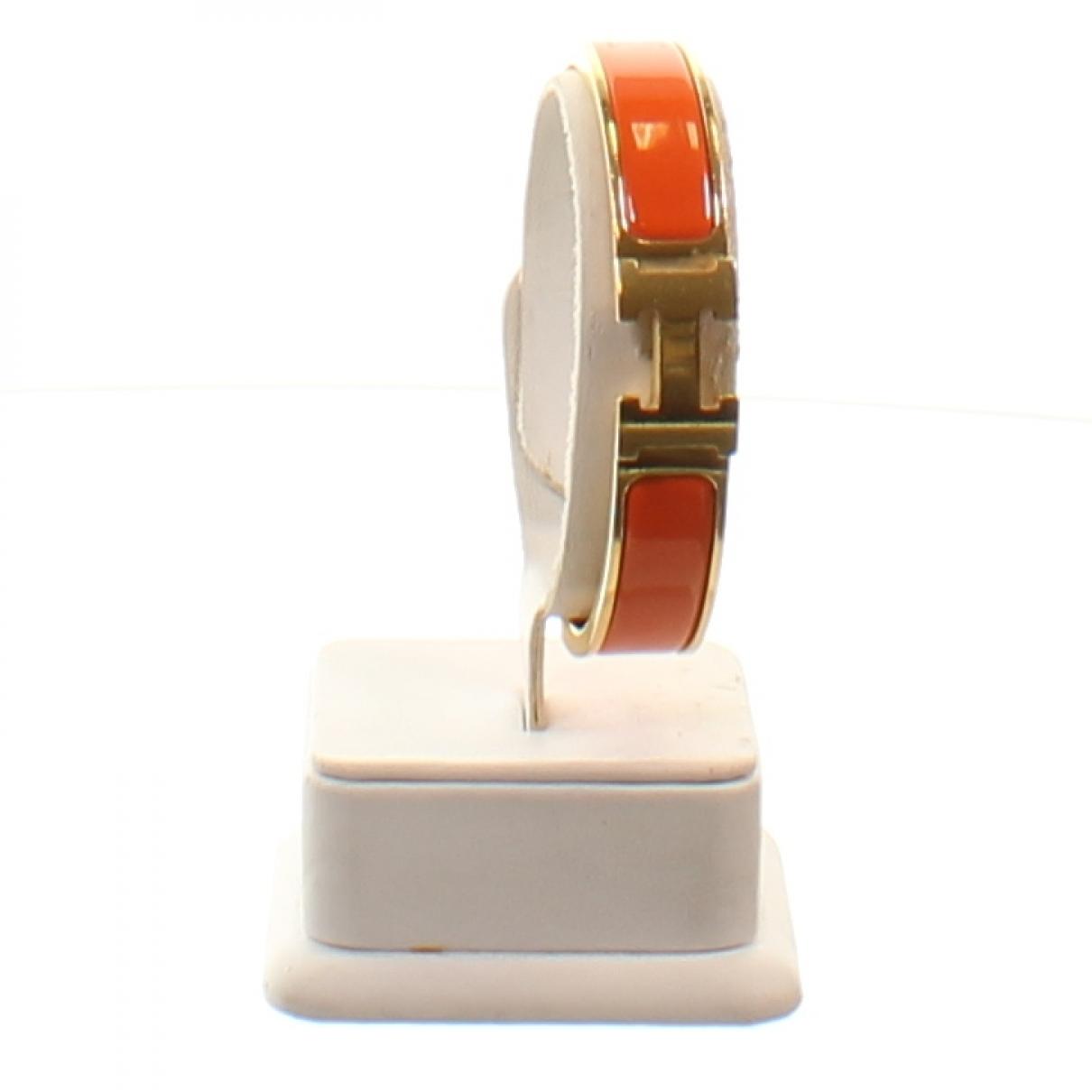 Hermes - Bracelet   pour femme en or blanc - orange