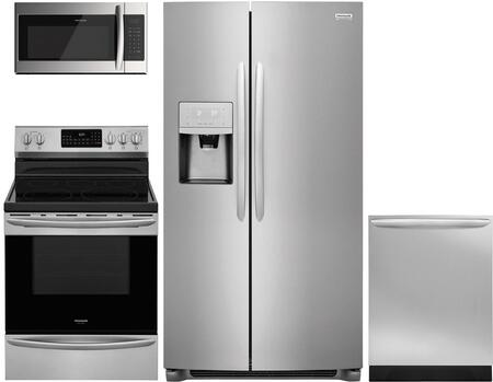4 Piece Kitchen Appliances Package with FGSS2635TF 36