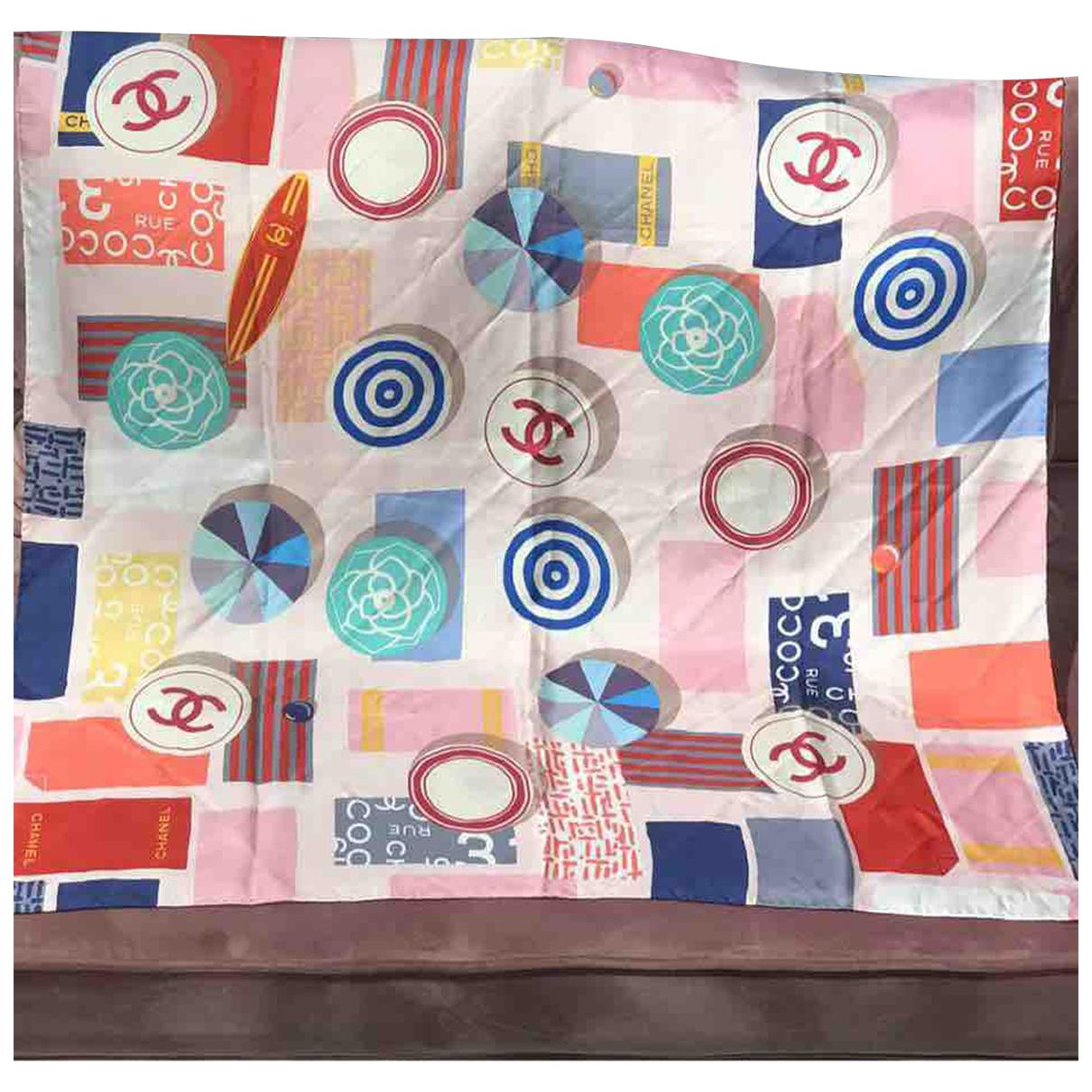 Chanel N Multicolour Silk scarf for Women N