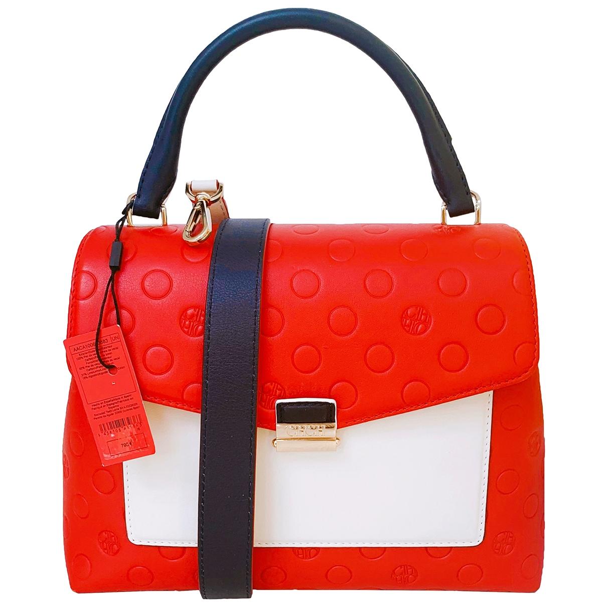 Carolina Herrera \N Handtasche in  Rot Leder