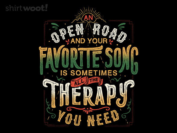 Road Trip Therapy T Shirt