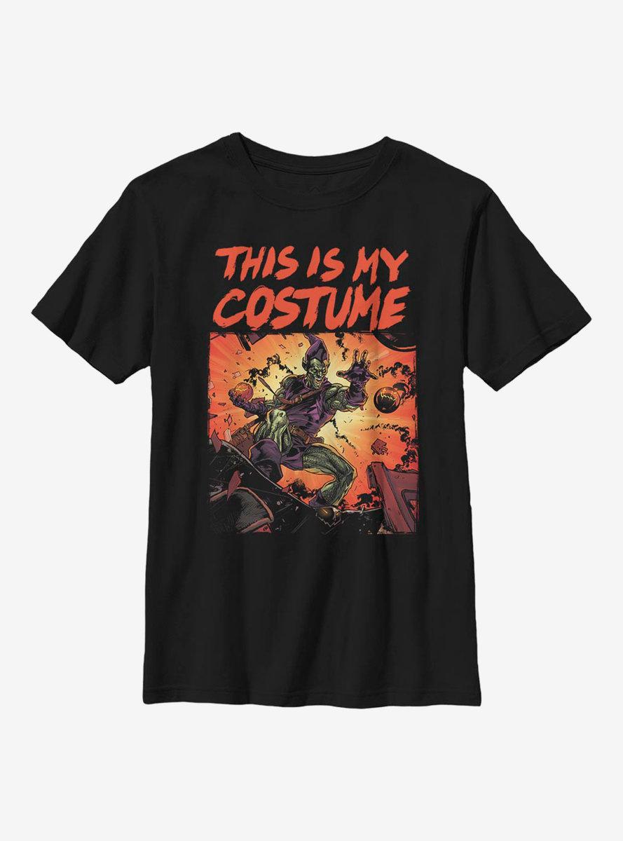 Marvel Spider-Man Goblin Costume Youth T-Shirt