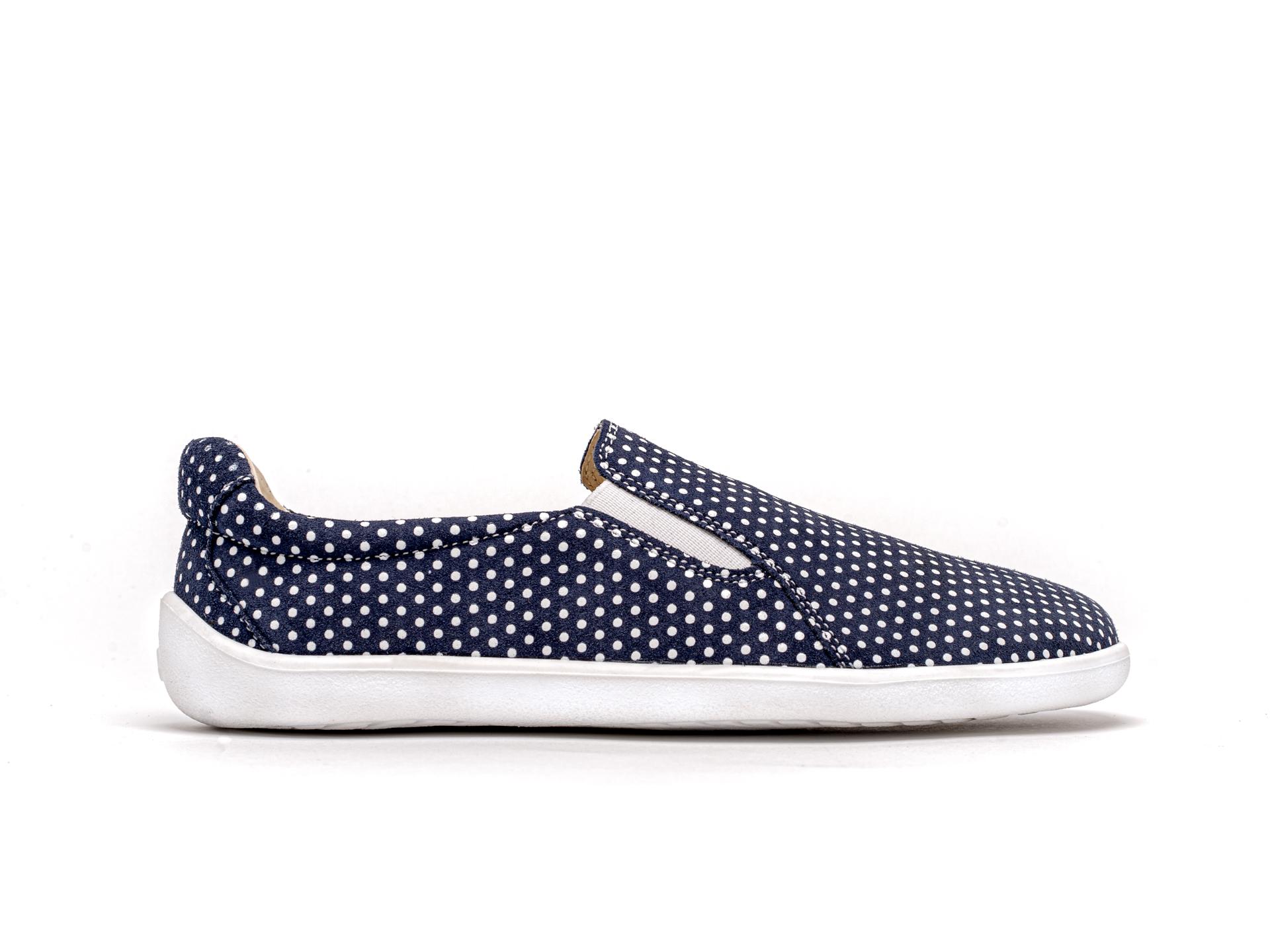 Barefoot Be Lenka Eazy - Dark Blue with Dots 46