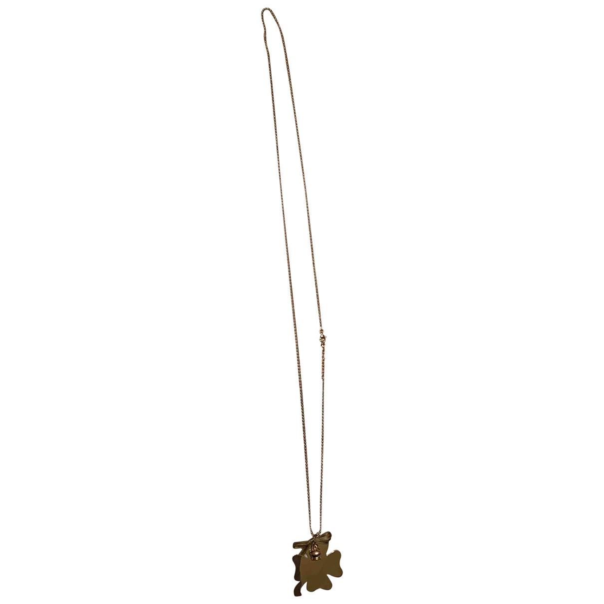 - Collier Motifs Floraux pour femme en argent