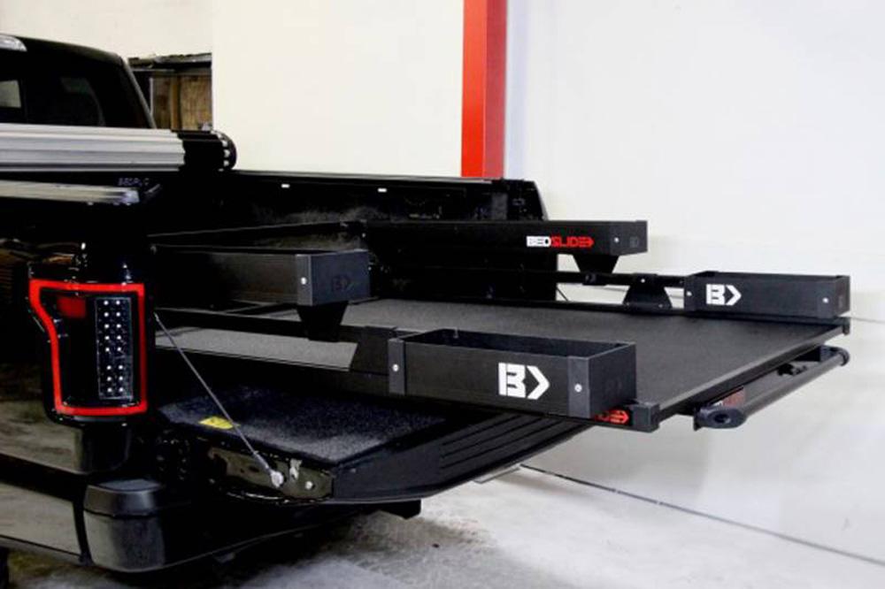 BedSlide BSA-BKB Black BedBin Complete 5 Piece Kit