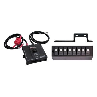 SPOD Bantam Power Distribution System with Switch Panel (Red) - B86000915LEDR
