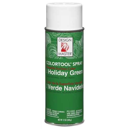 Design Master® Colortool® Spray Paint in Holiday Green | 12 oz | Michaels®