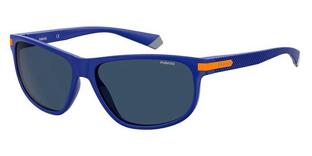 Polaroid PLD 2099/S RTC/C3 Men's Sunglasses Blue Size 58
