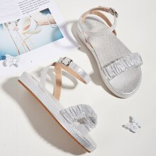 Toddler Girls Ruched Band Sandals
