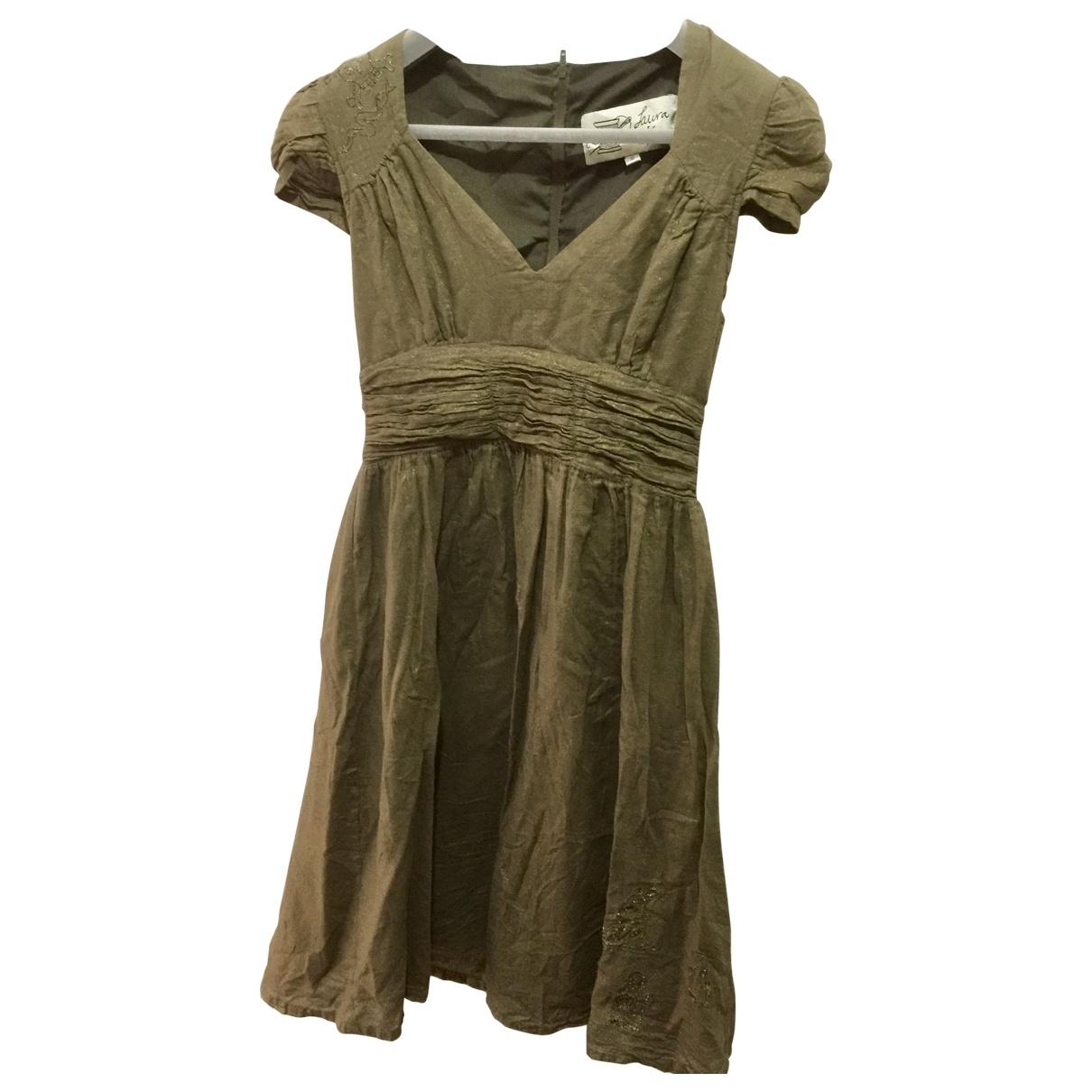 Topshop - Robe   pour femme en coton - metallise