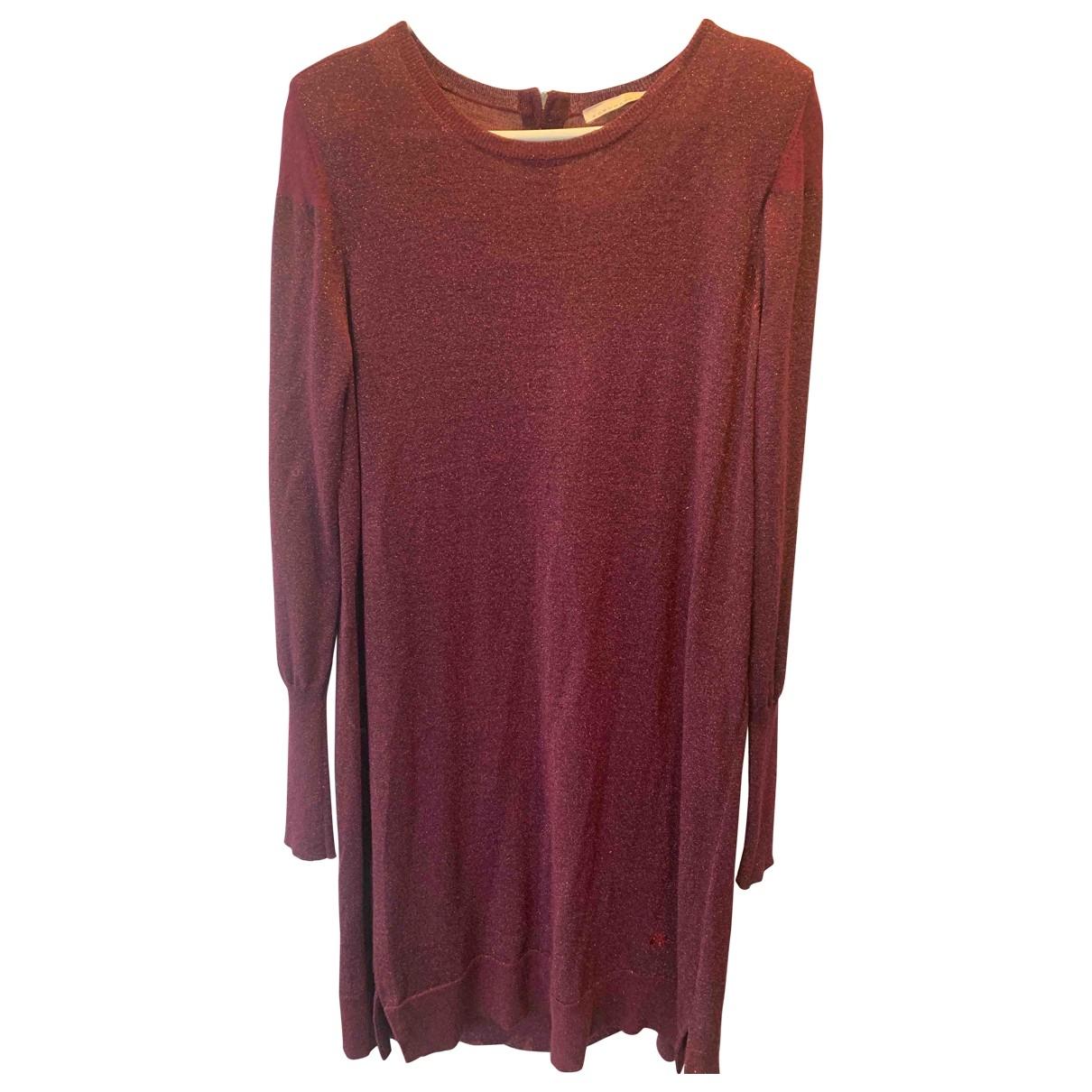 Schumacher \N Kleid in  Bordeauxrot Wolle