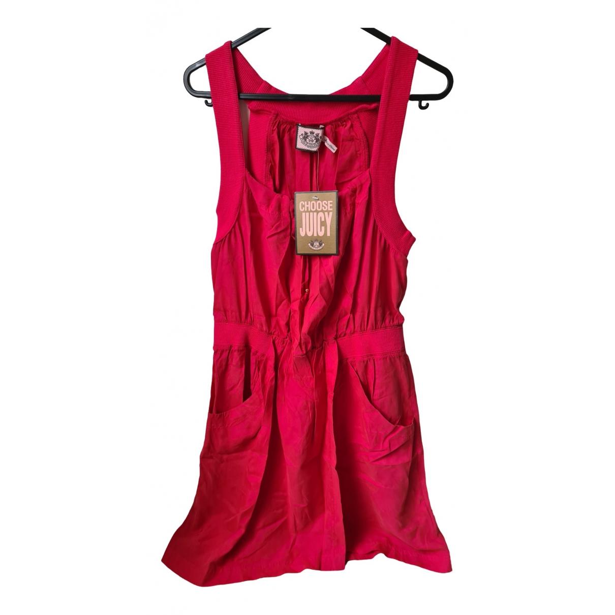 Mini vestido de Seda Juicy Couture
