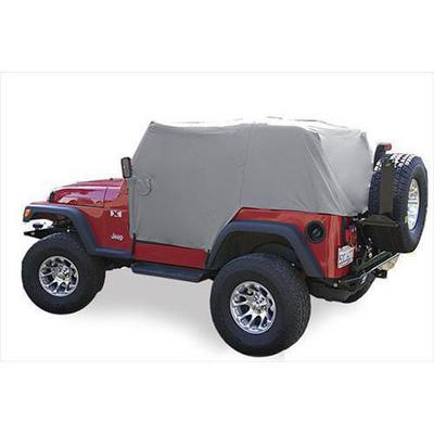 Vertically Driven Products Full Monty Cab Cover (Gray) - 501162