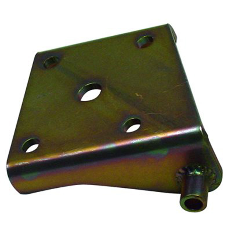 Detroit Speed 040301L Lower Shock Plate Mini-Tubbed Left 3 Inch Axle Tube (Use 1/2 Inch U-Bolts)
