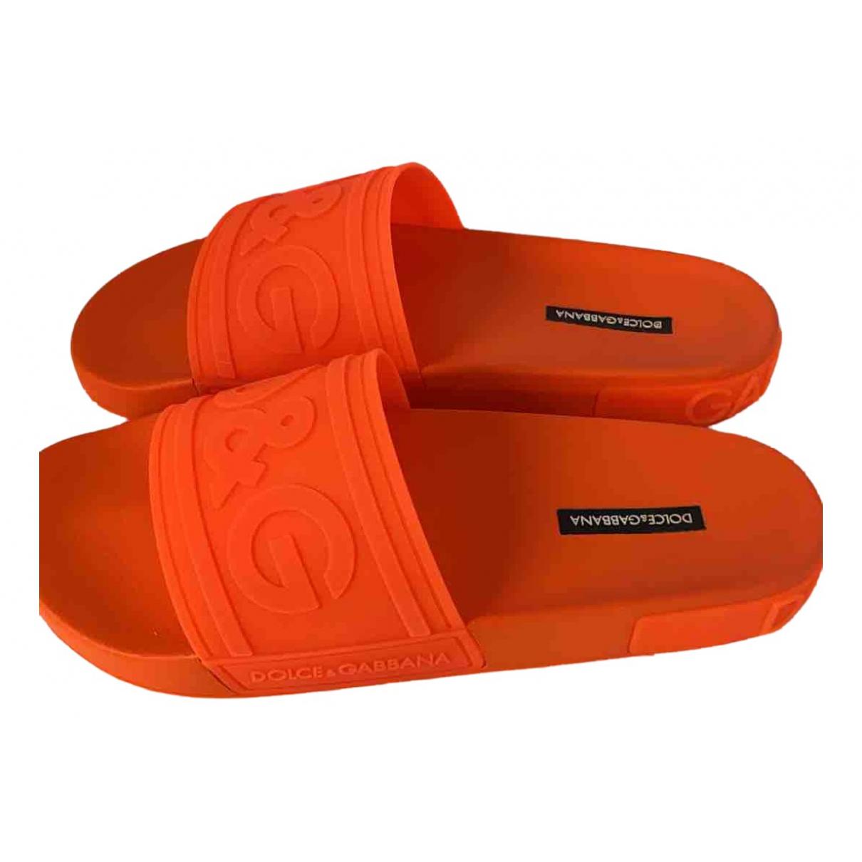 Dolce & Gabbana \N Sandalen in Kunststoff