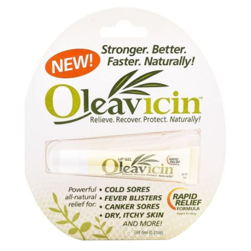 Cold Sore Treatment Gel 1.3 Oz by Oleavicin
