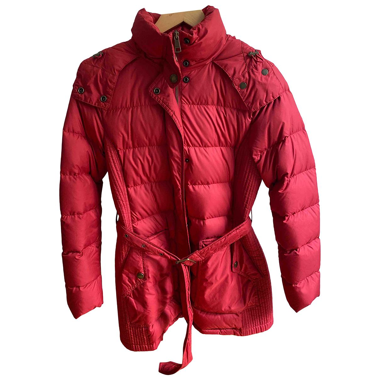 Burberry - Manteau   pour femme - rouge