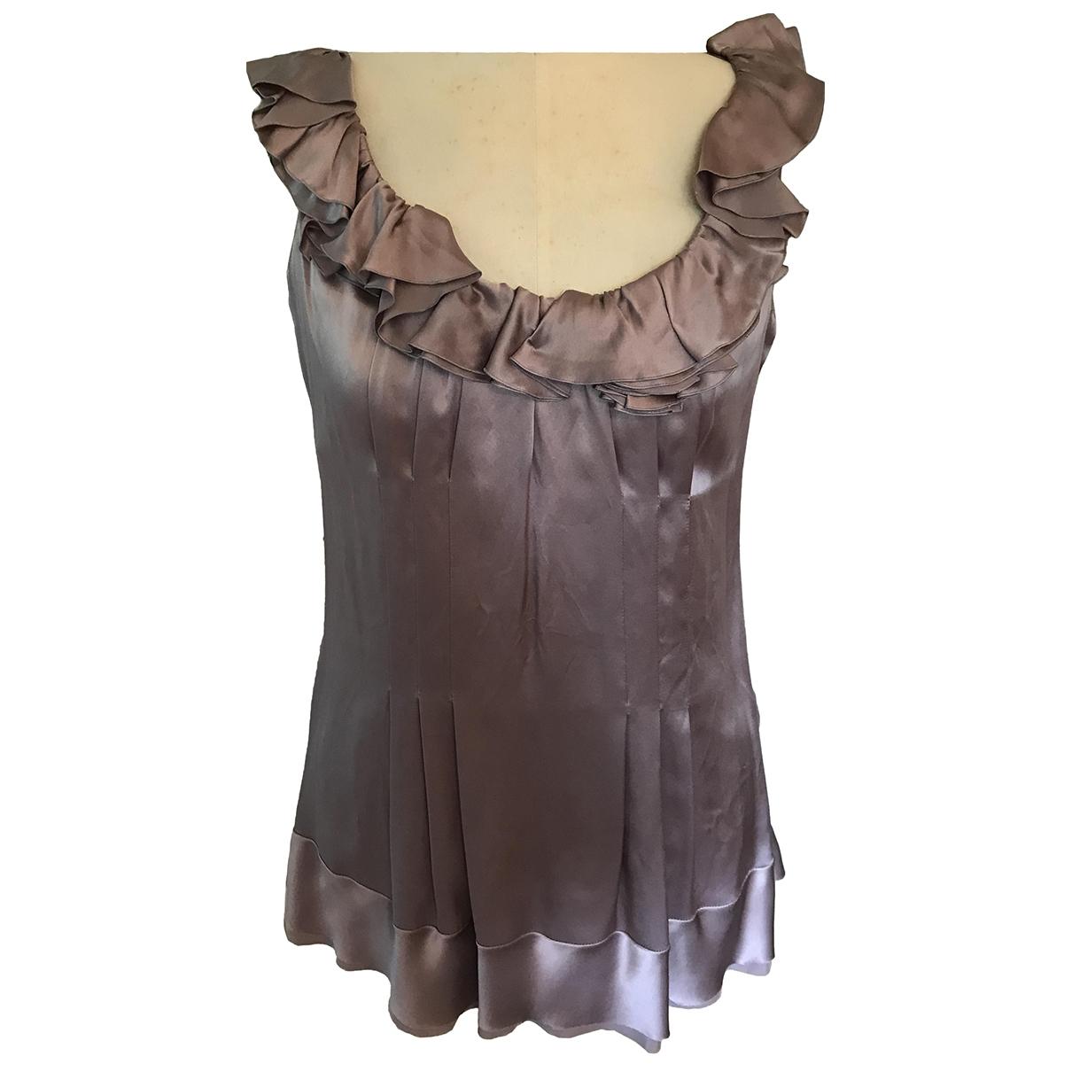 Prada \N Purple Silk dress for Women 42 FR