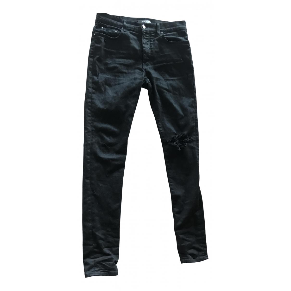 Amiri \N Black Cotton Jeans for Men 33 US