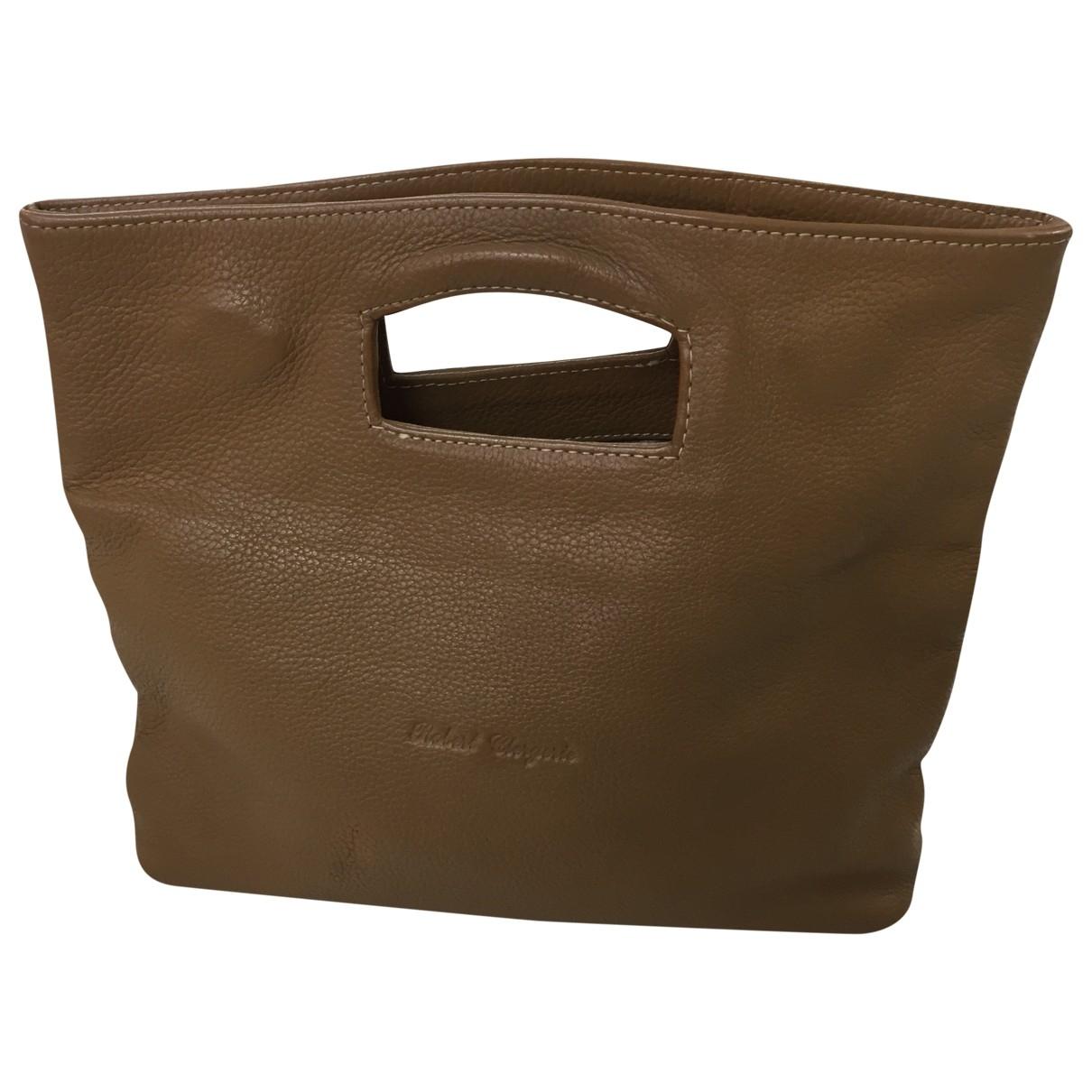 Robert Clergerie \N Camel Leather handbag for Women \N