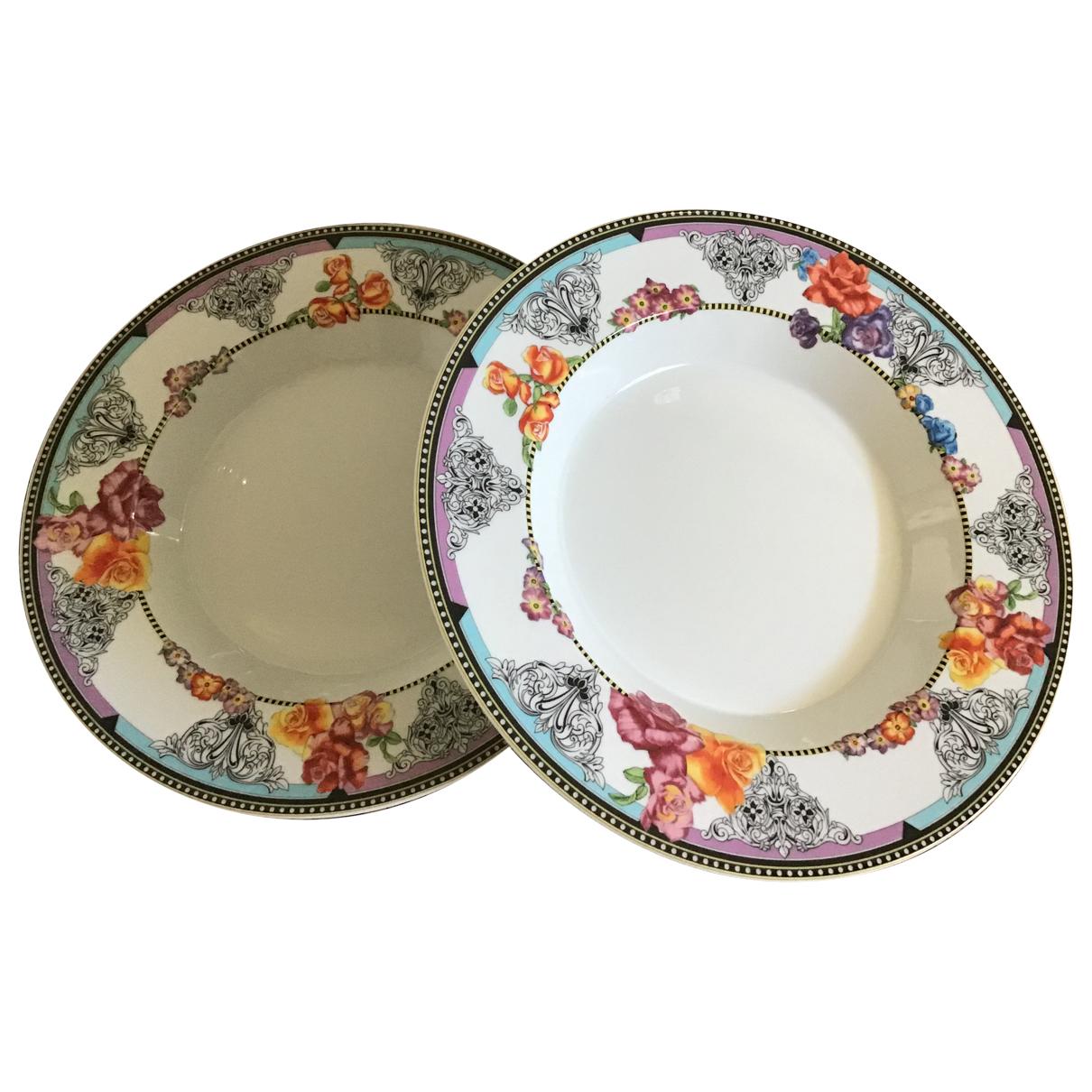 Platos de Porcelana Versace
