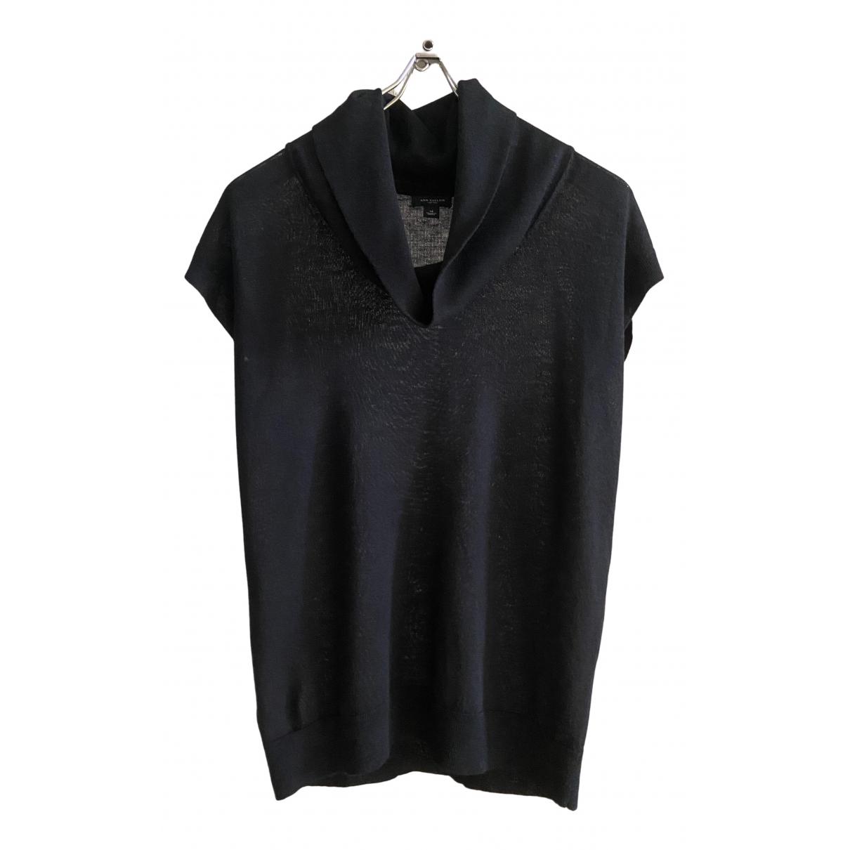 Ann Taylor \N Pullover in  Schwarz Wolle