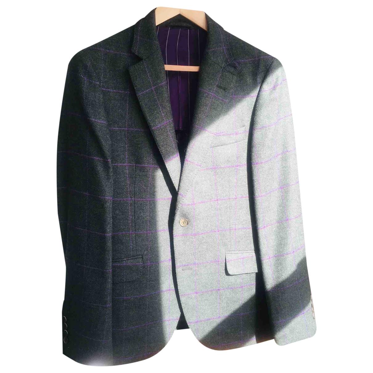 Hackett London - Vestes.Blousons   pour homme en laine - vert