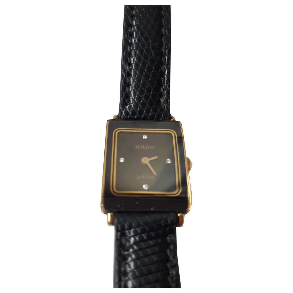 Rado \N Black Ceramic watch for Women \N