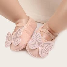 Baby Maedchen Flats mit Schmetterling Dekor