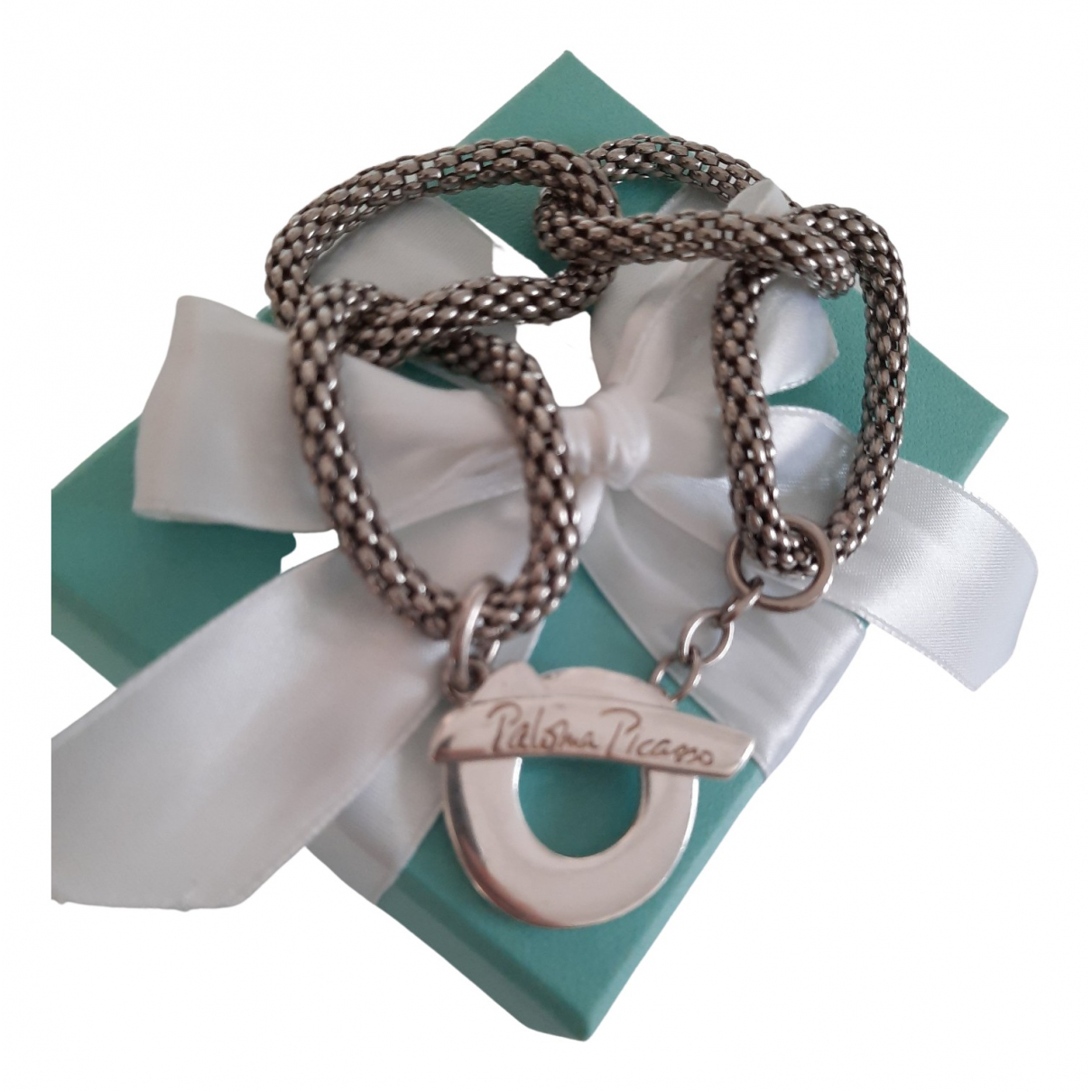 Tiffany & Co Paloma Picasso Armband in  Grau Silber
