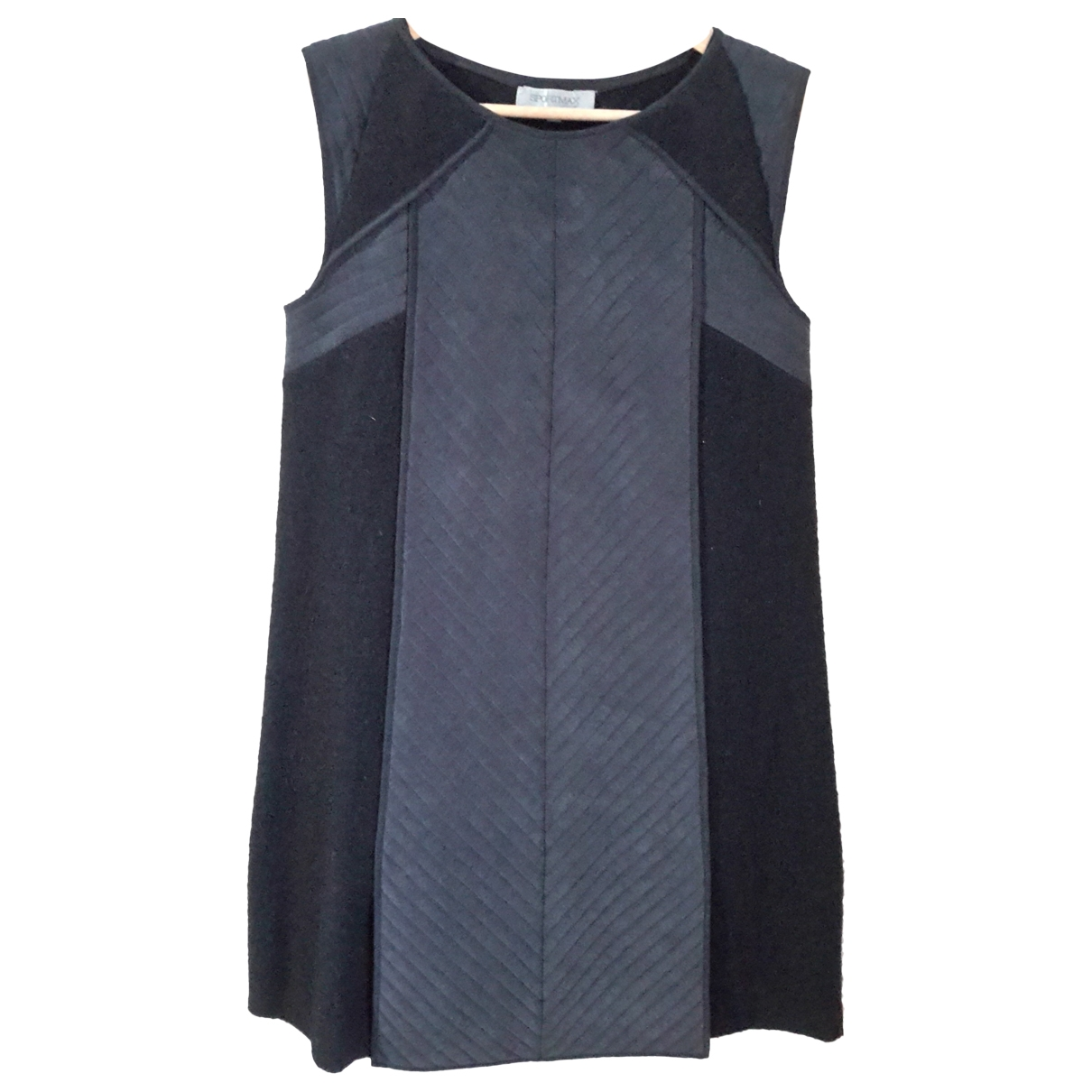 Sport Max \N Blue Wool dress for Women 42 IT