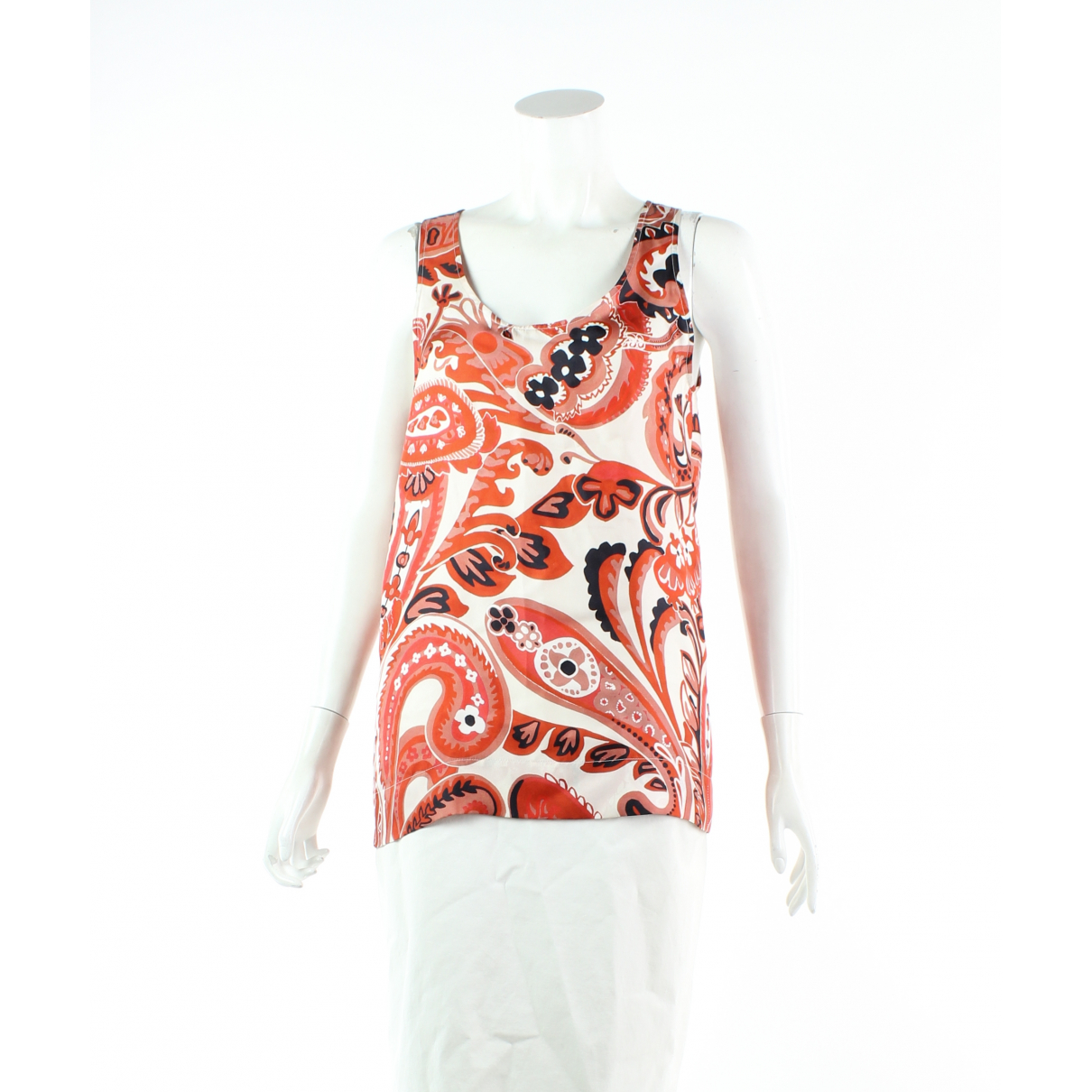 See By Chloé \N Red Silk  top for Women 4 US
