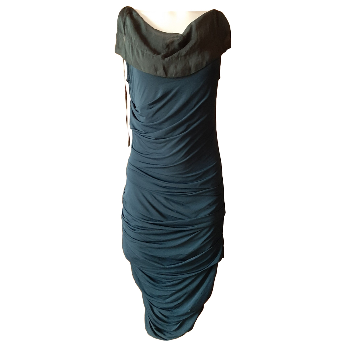 Non Signé / Unsigned \N Blue dress for Women L International